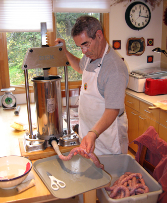 Solo home sausagemaking