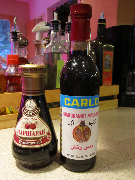 Pomegranate Molasses for Homemade Sausage